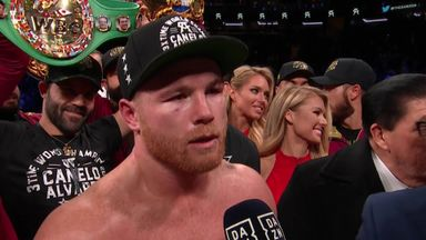 Canelo not ruling out GGG trilogy