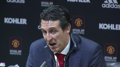 Emery 'proud' of Old Trafford draw