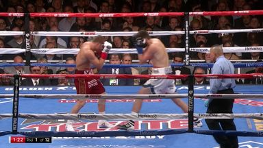 Canelo stops Rocky in third round