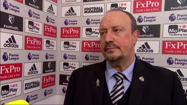 Benitez: Happy with work-rate