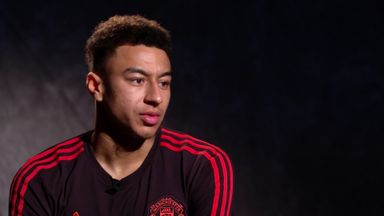 Lingard: Jose happy we showed fight