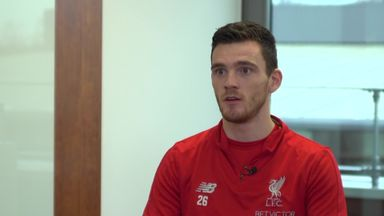 Robertson's first year at Anfield