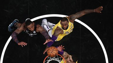 Lakers 110-115 Nets