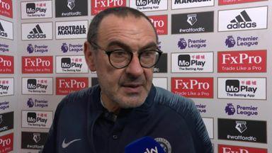 Sarri: We reacted very well