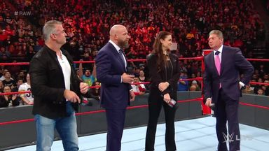 The McMahons announce changes to Raw