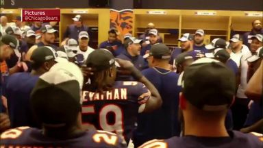 Bears celebrate NFC North title