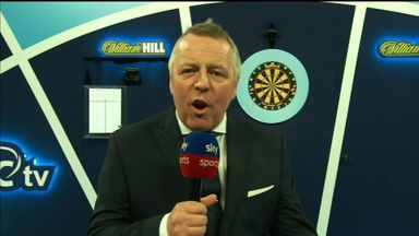 Darts announcer introduces 'Guru Gary'