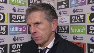 Puel laments 'poor' first half