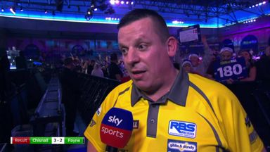 Chisnall: I didn't give in