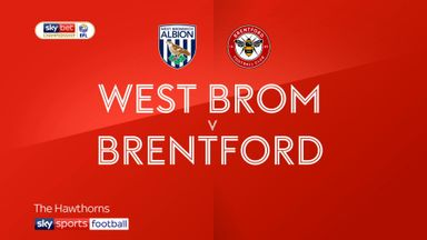 West Brom 1-1 Brentford