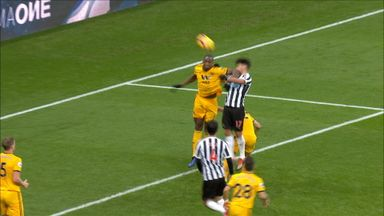 Were Newcastle wrongly denied a penalty?