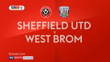 Sheffield Utd 1-2 West Brom