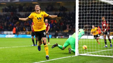 Wolves 2-0 Bournemouth