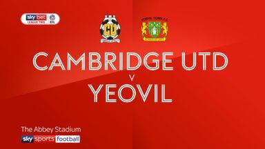 Cambridge Utd 0-0 Yeovil