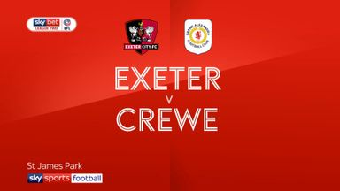 Exeter 1-0 Crewe