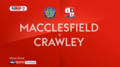 Macclesfield 2-0 Crawley