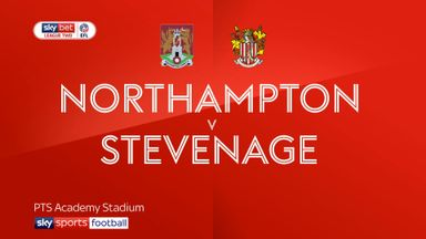 Northampton 1-1 Stevenage
