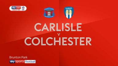 Carlisle 4-0 Colchester