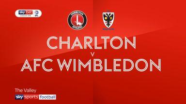 Charlton 2-0 AFC Wimbledon