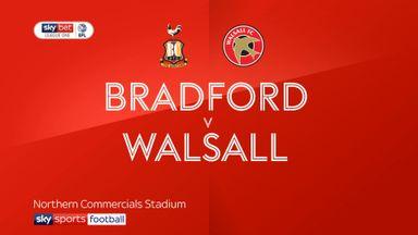 Bradford 4-0 Walsall