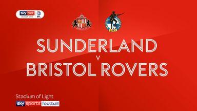 Sunderland 2-1 Bristol Rovers