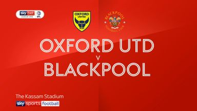 Oxford Utd 2-0 Blackpool