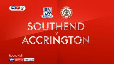 Southend 3-0 Accrington