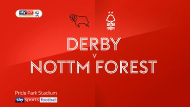 Derby 0-0 Nott'm Forest