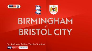 Birmingham 0-1 Bristol City