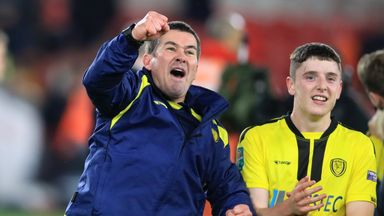 Clough saluted after Burton cup joy