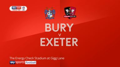 Bury 2-0 Exeter