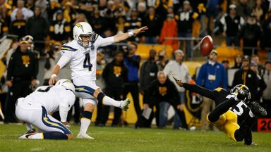 Bizarre finish to Chargers win