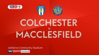 Colchester 1-0 Macclesfield