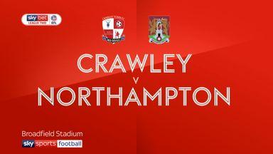 Crawley 0-1 Northampton