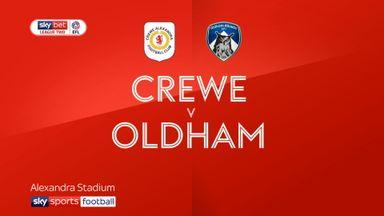 Crewe 0-2 Oldham