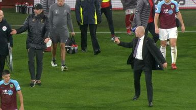 Dyche and Klopp's heated exchange