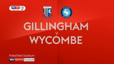 Gillingham 2-2 Wycombe