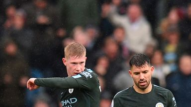 Pep: Aguero, De Bruyne could return