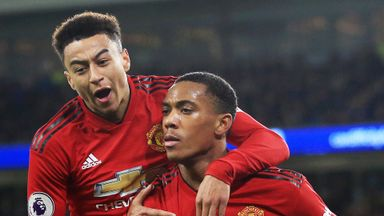 Martial, Lingard sidelined by injury