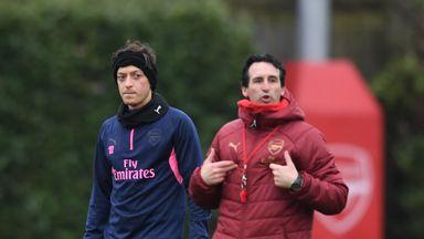 Emery: Ozil omission 'tactical'