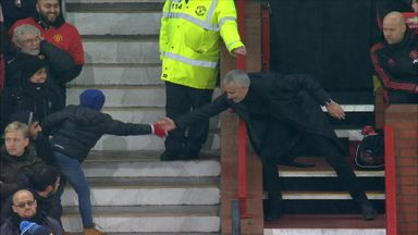 Mourinho makes up with kid