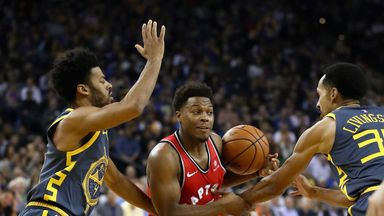 Raptors 113-93 Warriors