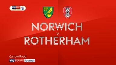 Norwich 3-1 Rotherham