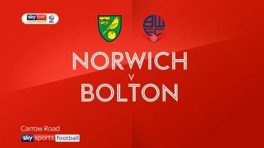 Norwich 3-2 Bolton