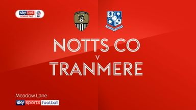 Notts County 3-2 Tranmere