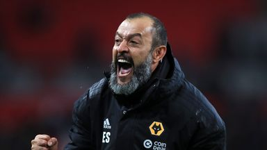 Nuno delighted with cup win