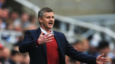 Solskjaer reacts to appointment