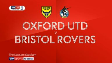 Oxford Utd 0-2 Bristol Rovers