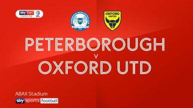 Peterborough 2-2 Oxford Utd