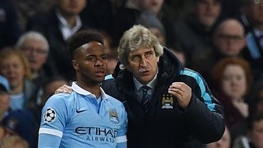 Pellegrini: Sterling has shown maturity